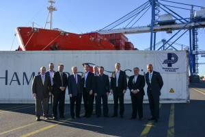 1st Brazilian beef import to US Arrives at Port Philadelphia (10-14-16)